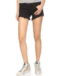Blank - Saturated Denim Shorts - Lyst