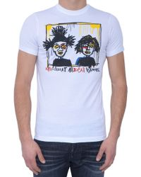 DSquared² Printed-T-Shirt - Lyst