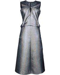 Jil Sander 34 Length Dress - Lyst