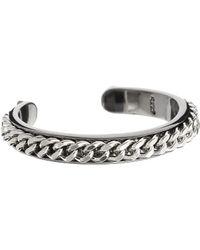 Cheap Monday Chain Bangle Bracelet - Lyst