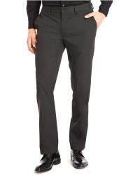 Kenneth Cole Reaction Slim-fit Slant-pocket Pants - Lyst