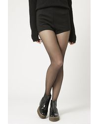 Topshop Ponte High-Waisted Knicker Shorts - Lyst