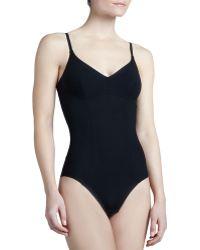 La Perla Invisible Contour Seamed Bodysuit - Lyst