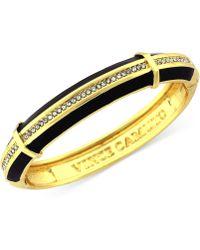 Vince Camuto - Goldtone Pavé Skinny Bangle Bracelet - Lyst