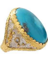 Victor Velyan - Turquoise Ring - Lyst