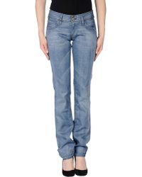 Levi's Denim Trousers blue - Lyst