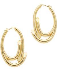 Maiyet - Empire Large Oval Hoop Earrings - Lyst