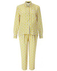 Anya Hindmarch   Smiley Silk Pyjama Set   Lyst