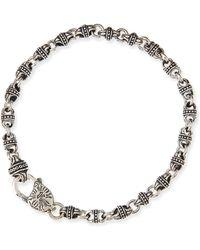 Konstantino Mens Sterling Silver Mini-Link Bracelet - Lyst