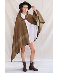 Urban Renewal - The Local Branch Nomad Blanket Open-Front Poncho - Lyst