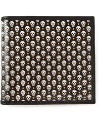 Alexander McQueen Skull Bifold Wallet - Lyst