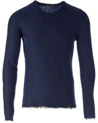 Faliero Sarti - Raw Edge Sweater - Lyst