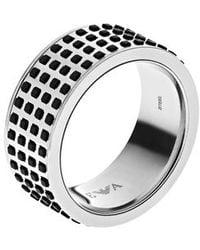 Emporio Armani - Egs2118040002 Mens Ring - Lyst
