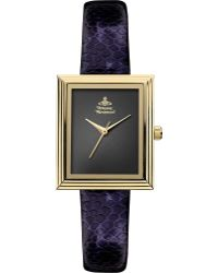 Vivienne Westwood Vv115bkpp Time Machine Gold-toned and Leather Watch - Lyst