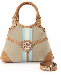 Gucci Reins Two Way Handbag - Lyst