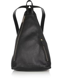 Jil Sander - Textured-leather Backpack - Lyst
