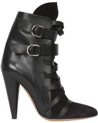 Isabel Marant 115mm Royston Leather Suede Boots - Lyst