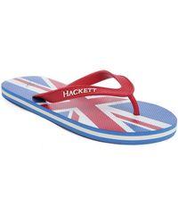 Hackett | Union Jack Flip-flops | Lyst