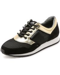 United Nude - Runner Trainers - Gold/Black - Lyst