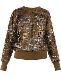 Isabel Marant Hamilton Sequined Sweater - Lyst
