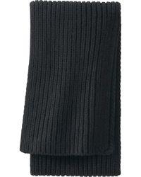 Uniqlo Big Knitted Scarf - Lyst