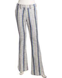 Rebecca Minkoff Cruz Bootcut Striped Pants - Lyst