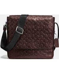 COACH | Metropolitan Map Bag In Signature Sport Calf Leather | Lyst