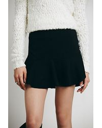 Free People Short N Sweet Mini Skirt - Lyst