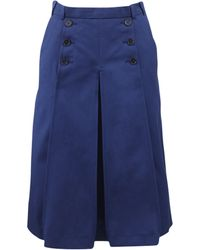 Carven | Pleated Sailor Skirt | Lyst