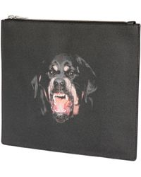 Givenchy Rottweiler Large Nylon Pouch - Lyst
