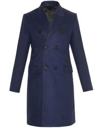 Burberry Prorsum - Double-Breasted Linen Coat - Lyst