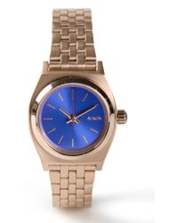 Nixon Small Time Teller Watch - Lyst