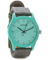 Nixon Mod Acetate Watch - Light Blue/Grey - Lyst