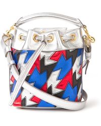 Saint Laurent Mini Metallic Emmanuelle Bag - Lyst