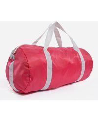 Asos Pink Nylon Carryall - Lyst