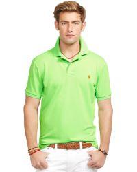 Polo Ralph Lauren Performance Mesh Polo Shirt - Lyst