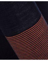 Paul by Paul Smith - Navy V Neck Wool Knit Jumper - Lyst