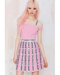 Nasty Gal To Be Adored Dance Your Troubles Away Dress - Lyst