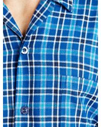 John Lewis - Classic Check Brushed Cotton Pyjamas - Lyst