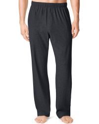 Calvin Klein Mens Cotton Jersey Lounge Pants - Lyst