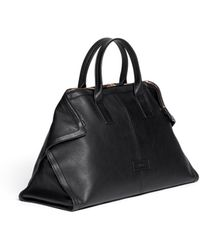 Alexander McQueen Leather Manta Carryall Bag - Lyst