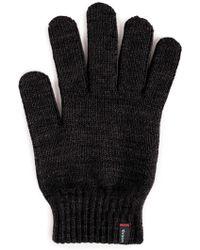 Brixton - 'butcher' Knit Gloves - Lyst