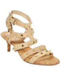 Kors By Michael Kors Shay Studded Suede Sandals - Lyst