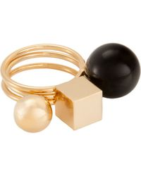 Trina Turk Stackable Ring gold - Lyst