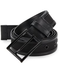 Tumi - Ballistic Nylon & Leather Belt - Lyst