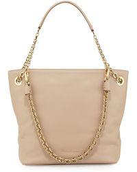 Ferragamo Malia Smooth Leather Shoulder Bag - Lyst