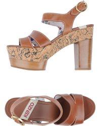 KENZO | Platform Sandals | Lyst