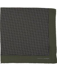 Ralph Lauren Black Label Graphic Pocket Square - Lyst
