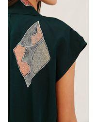 Urban Renewal | Recycled Sleeveless Kimono Jacket | Lyst