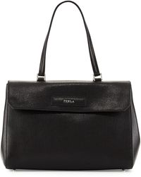 Furla Patty Leather Tote Bag - Lyst